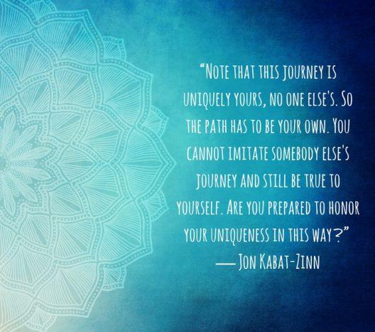 John Kabat-Zinn MBSR quote